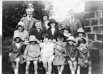 Cabin Sunday school 1930