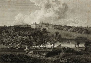 Harewood House by J. M. W. Turner circa 1800