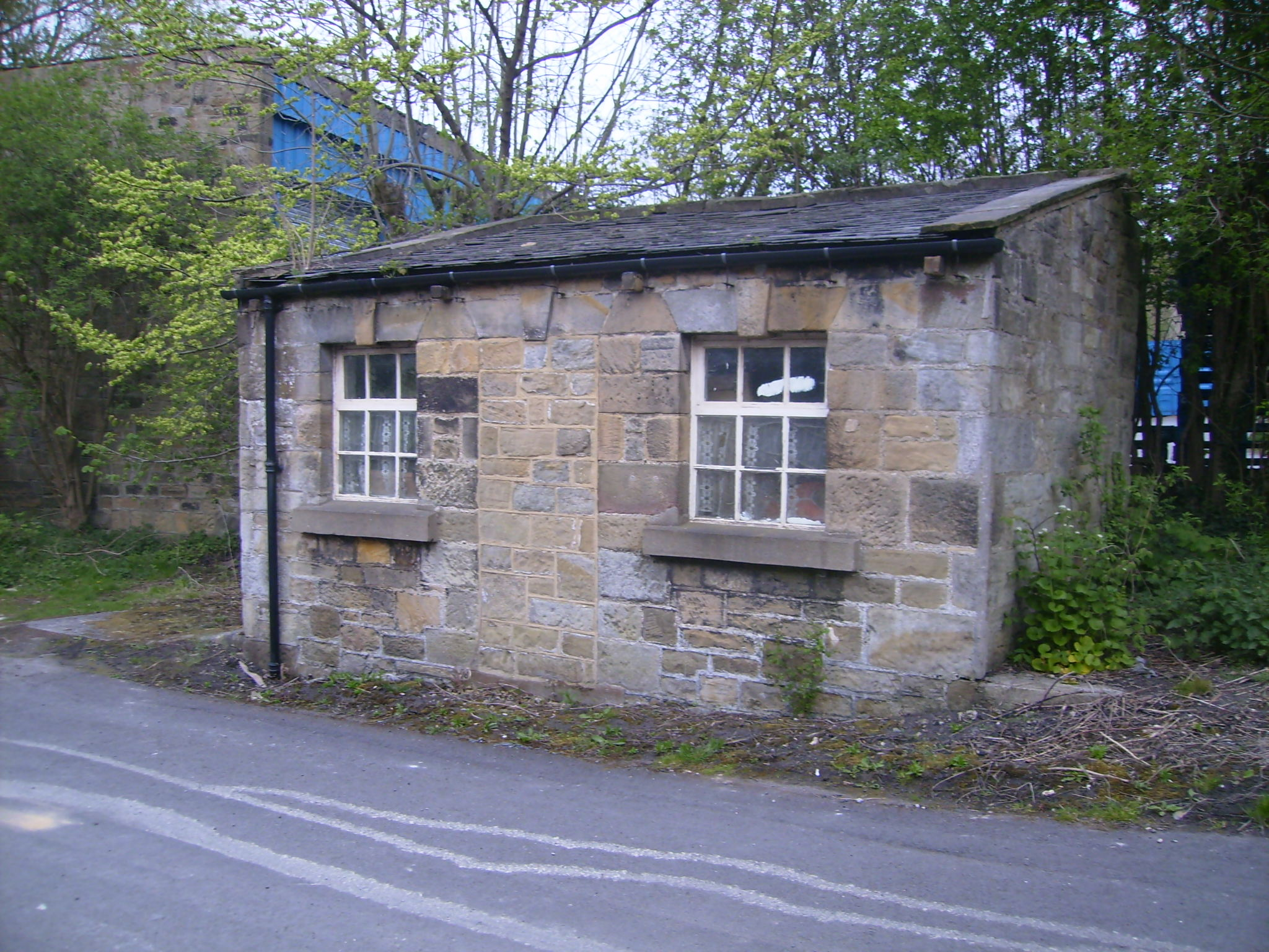 High or Walk Mill gatehouse 2009